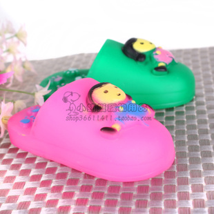 Cheap fashion slippers pet toys rubber toys pet cats and dogs toy sound bite resistant Toys