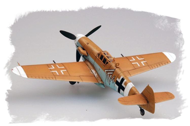 DIY 1/72 de BF109G-2/Trop тропических трубач статические модели самолета переоборудованные истребитель