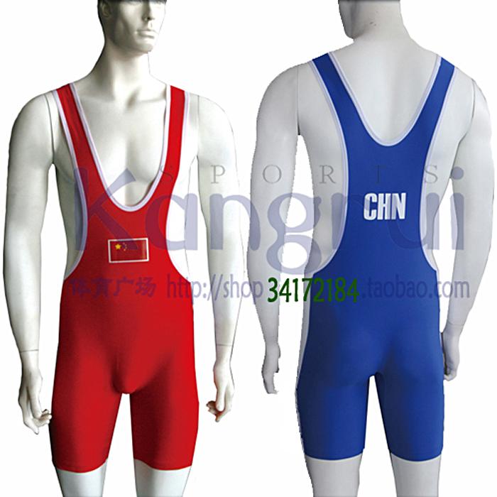 Бросать упорная борьба одежда KW142 высокоэластичный спандекс 2 участник от стиль ребенок взрослый мужчина женский красный синий увеличение удобрений мир швейцарский