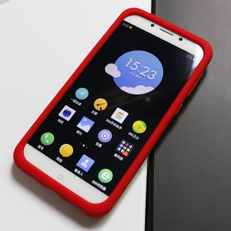 色布Seepoo 奇酷360 N5手机壳 360 N5手机套 软保护套 防摔硅胶套