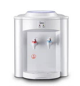 美的台式饮水机MYR720T温热型迷你家用学生用办公用联保