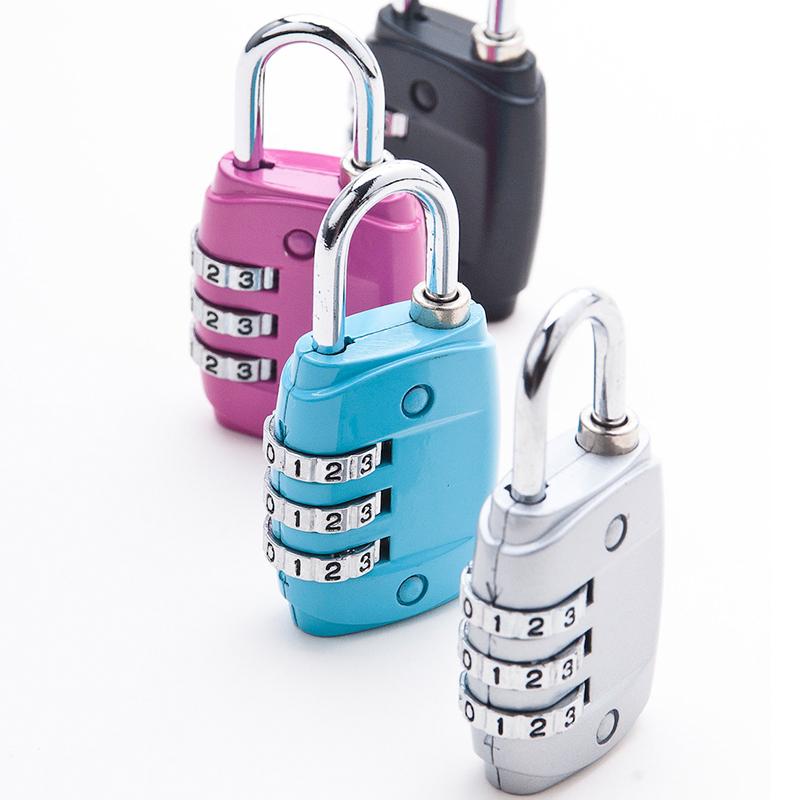 Бесплатная доставка пароль замок мешки запереть фитнес дом багаж чемодан пароль замок мини мешки пароль замок запереть