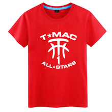 McGrady short-sleeved t-shirt men's tide summer youth basketball clothes increase plus fat students sports t-shirt
