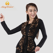 Amy dance clothes The new fold chiffon cardigan Modern practice coat Dancing CC10011 suit jacket