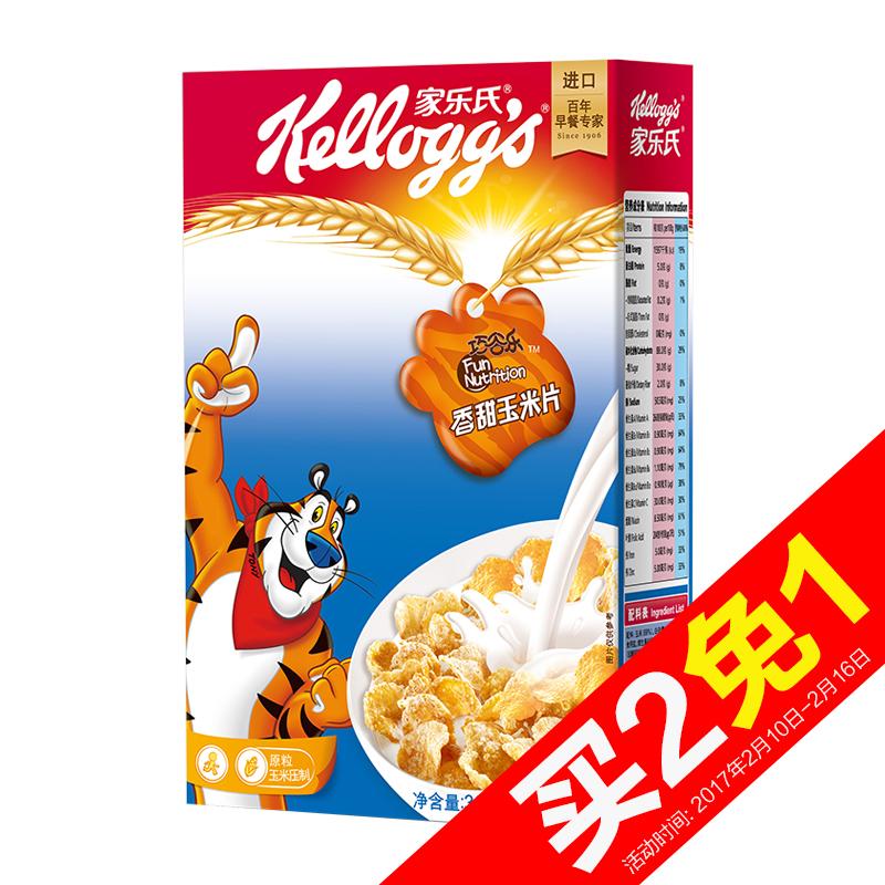 ~天貓超市~泰國 家樂氏香甜玉米片300g營養穀物早餐衝飲麥片