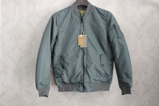 Spanish fashion brand mens baseball collar jacket cotton padded jacket for business and leisure