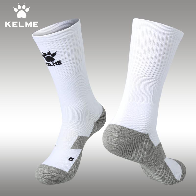 卡爾美足球襪中筒襪防滑加厚毛巾底934男KELME籃球跑步 襪子