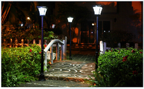 Export Ultra Highlight 1.8 meters solar lamp landscape garden lamp lawn lamp human induction lamp Outdoor Street lamp