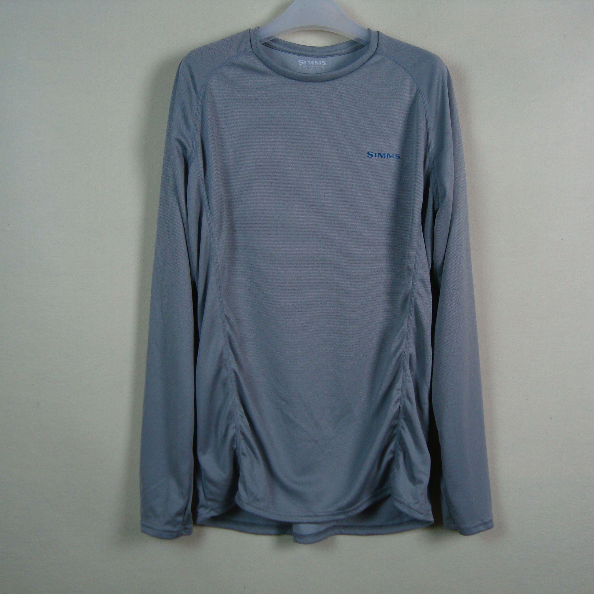 СИММС мужской открытый быстросохнущие солнцезащитный крем 50 мужчин длинный рукав футболки