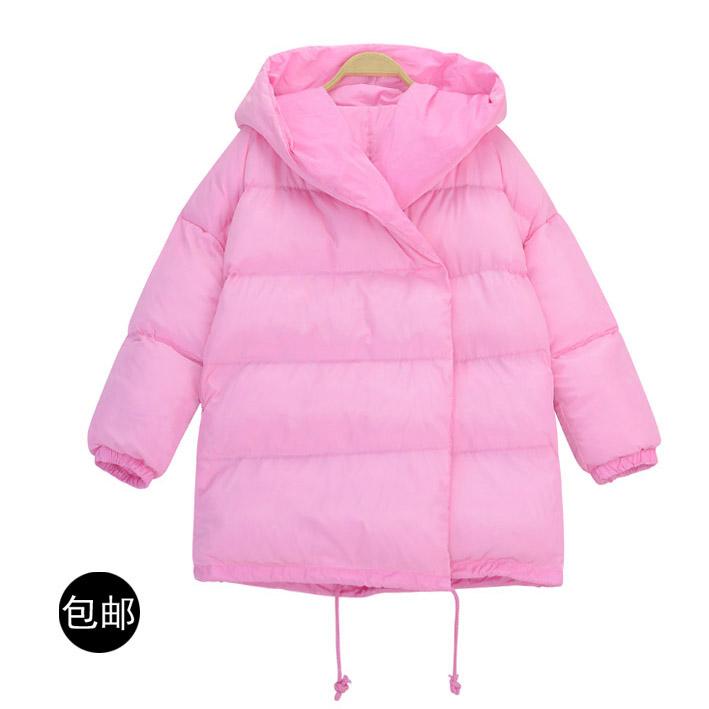 Электронная почта: корея dongdaemun новый даляни шляпу теплый вниз пальто хлопка свободные джокер женщин осень/зима