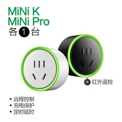 小K Mini k pro智能家居微插座 wifi�h程�b控制插座定�r�_�P包�]