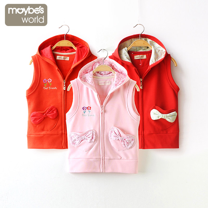 Gilet fille MAYBES WORLD - Ref 2071845 Image 1