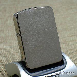 原装正品zippo打火机二战经典美版1941复刻黑冰拉丝24096 正品