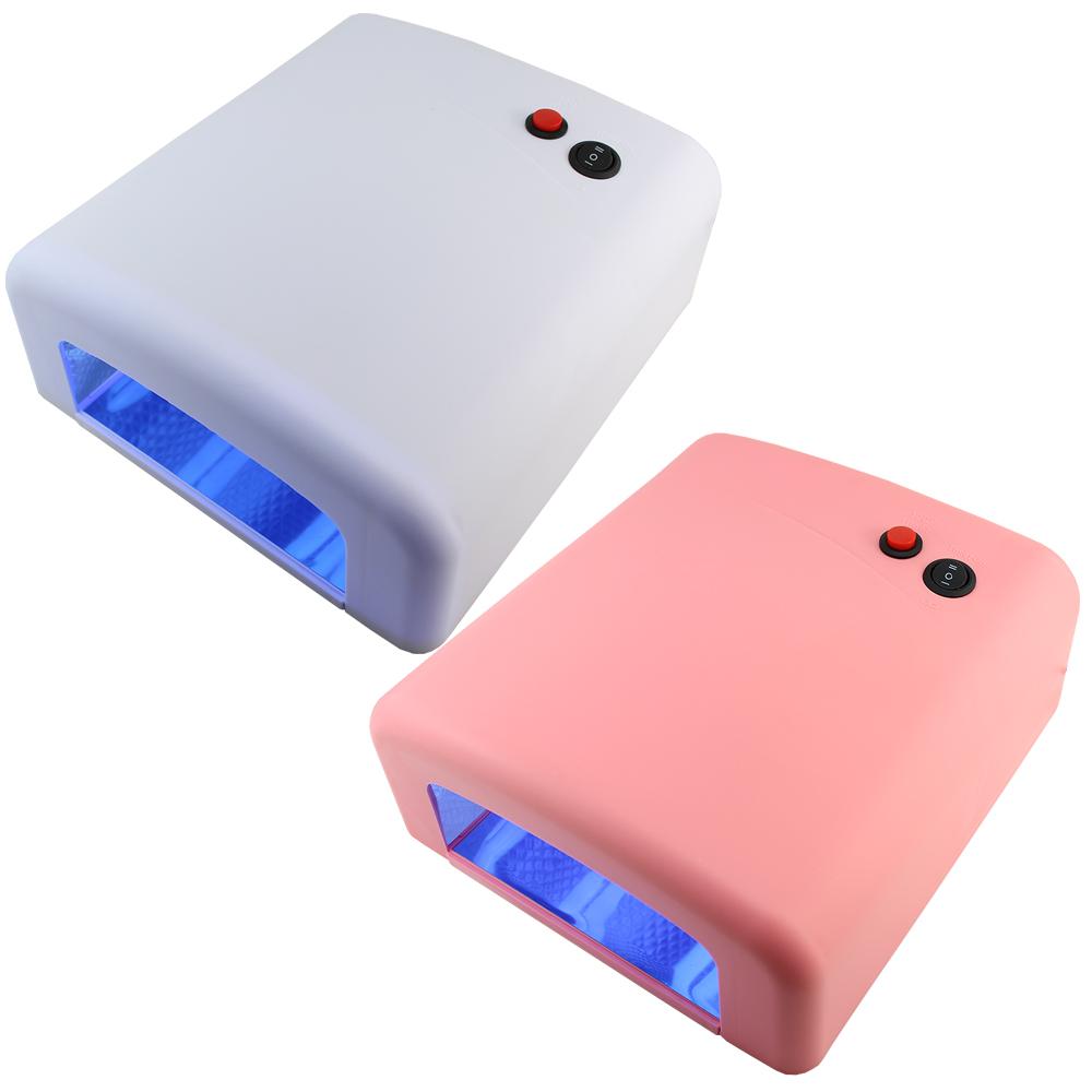 Фиолетовый красоты ногтей JD818 QQ фототерапии свет терапии машина пластиковые Барби ногтей гель УФ гель лампа 36W