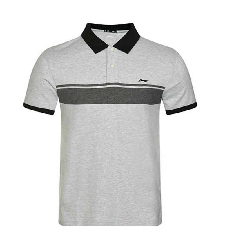 Lining/ li ning мужской li ning мужской с коротким рукавом T футболки мужской li ning polo рубашка отворот короткий рукав