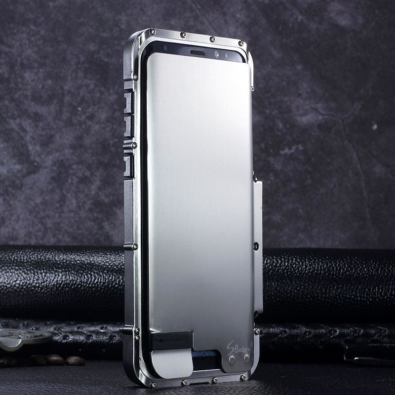 Armor King Iron Man Luxury Shockproof Stainless Steel 360