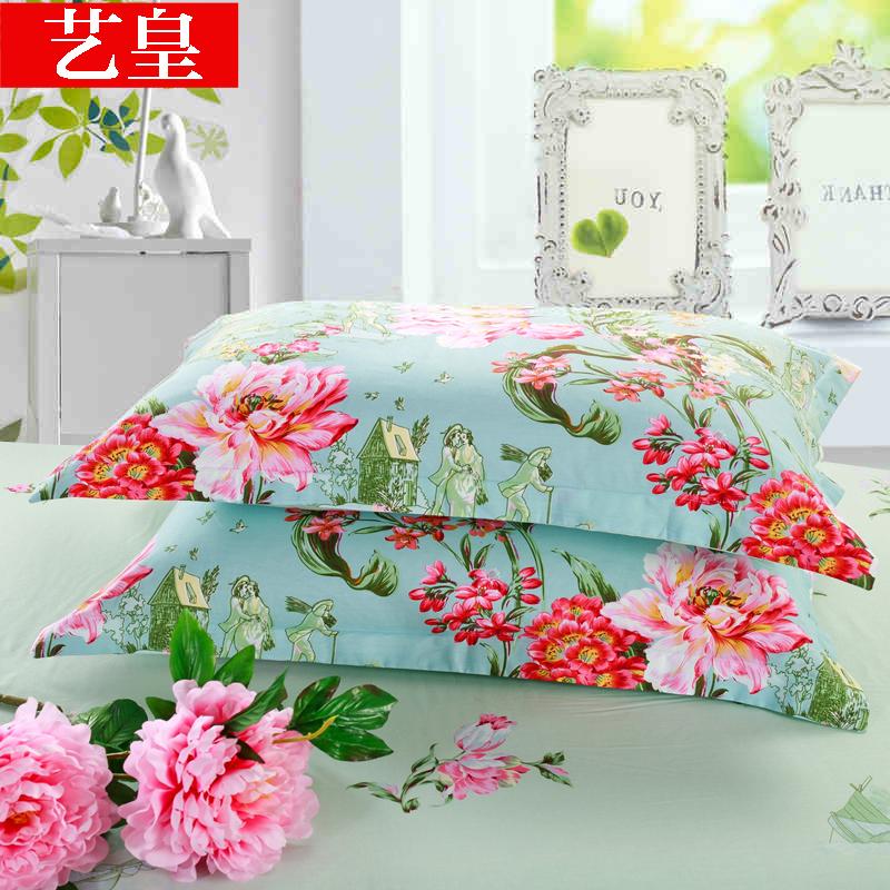 Искусство император хлопок пара наволочек наряд 48*74cm хлопок подушка простыни человек студент подушка наборы специальная бесплатная доставка