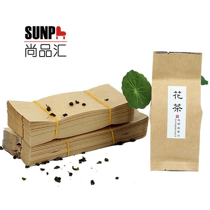 Утолщённый скот пергамент мешок чай звезда упаковка мешок зеленый чай сиху дракон хорошо черный чай цветы чай мешок обшивка фольга мембрана внутри сумки