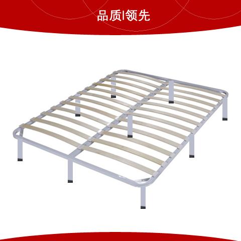 双人定做90 1.2 1.5 1.8 2.0米两排式白色排骨架 床架 床板,可领取元淘宝优惠券