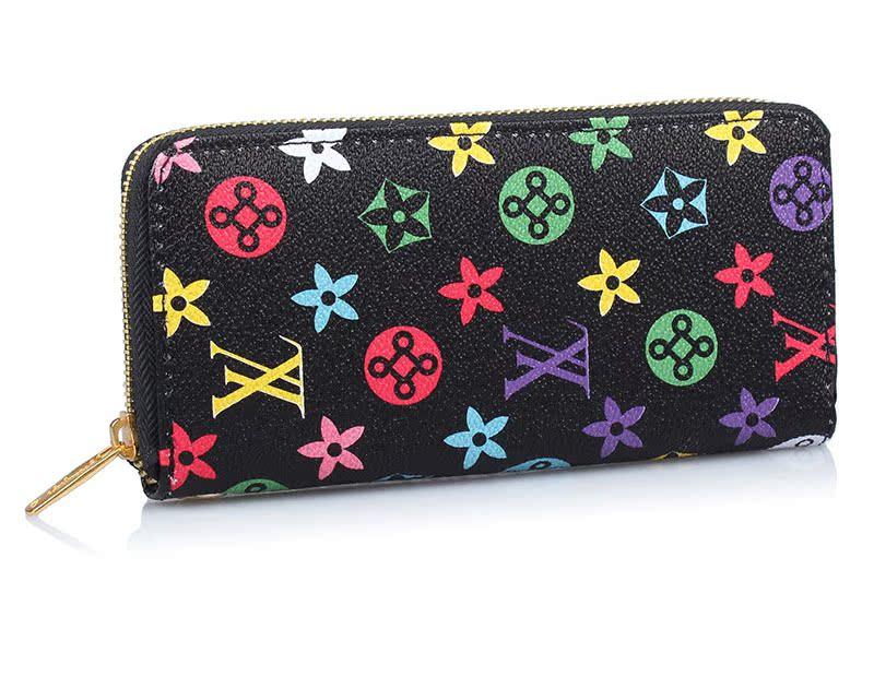Дамы Мода zip бумажник