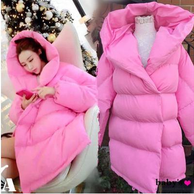 Фабрика прямой эксклюзивные пользовательских Барби розовые бамбука хлопка мягкие подлинных полных теплой мягкой куртки пальто