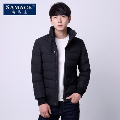 2016冬季新款青年黑色棉服外套 券后160元包邮