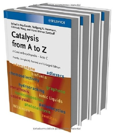 【预订】Catalysis from a to Z 4E - a Concise...