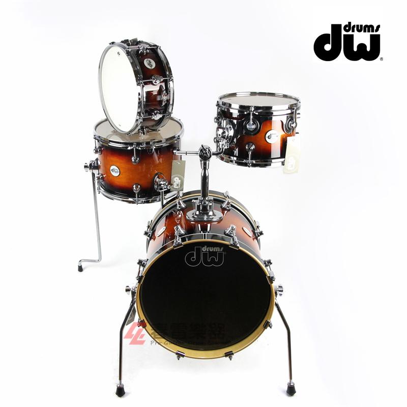 春雷乐器 台产 DW Design MINI-PRO系列 小尺寸迷你套鼓