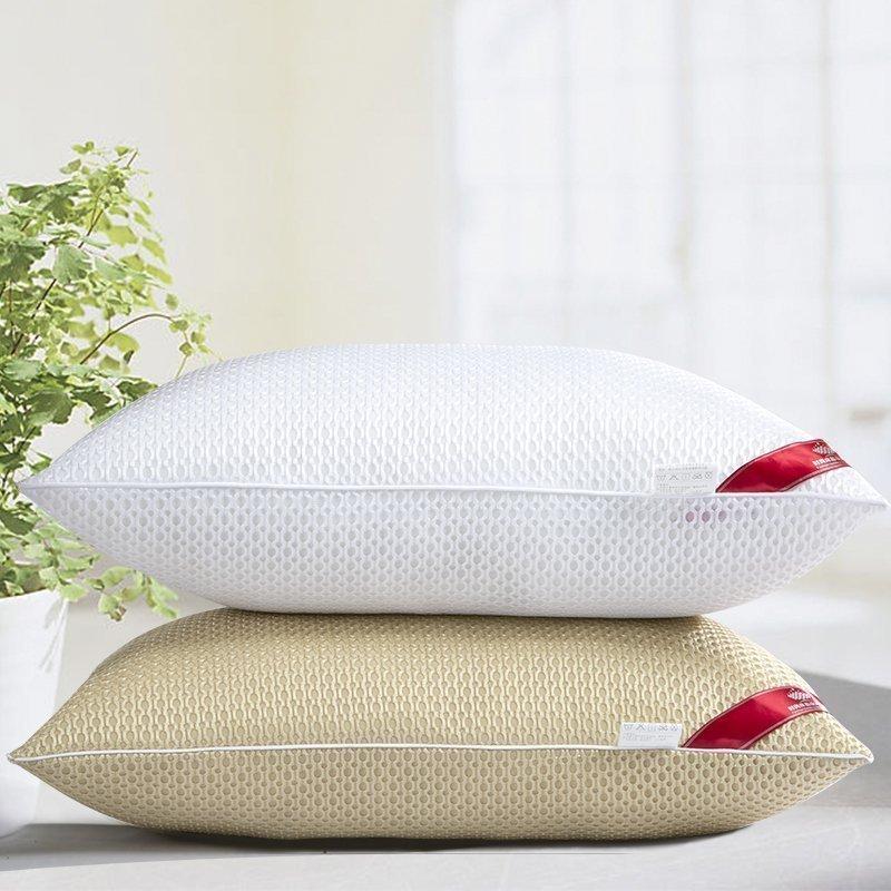 五星級酒店賓館枕頭一對可水洗學生枕芯單人羽絲絨透氣枕