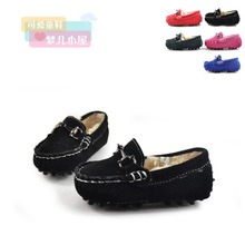 2015 winter cute baby leather shoes shoes boy cotton shoes women's shoes cotton doug shoes with cotton gourd ladle