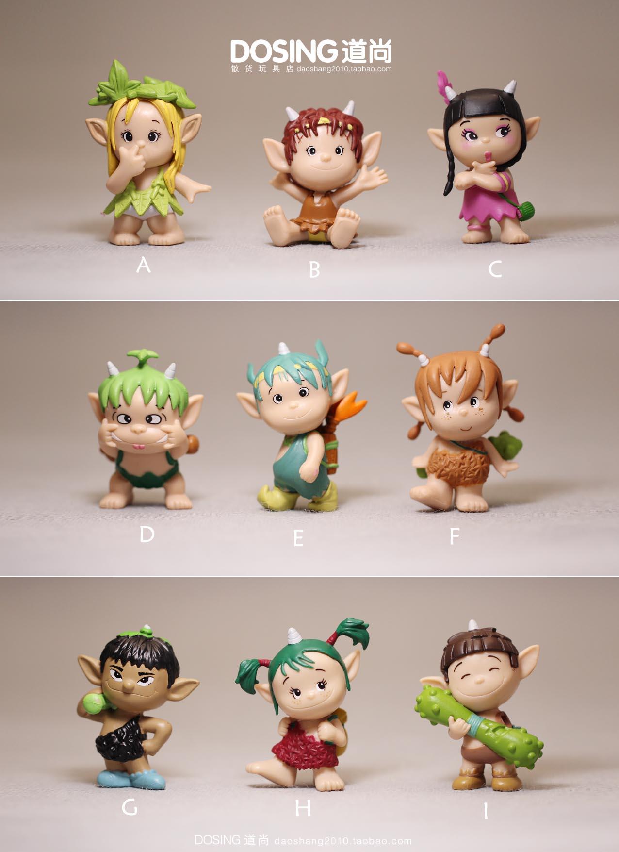 Корея подлинной массовых Долли Toread мило лесной эльф куклы куклы модель украшения