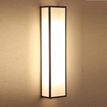 亚麻布酒店会所卧室客厅餐厅灯饰LED新中式壁灯简约现代走廊过道