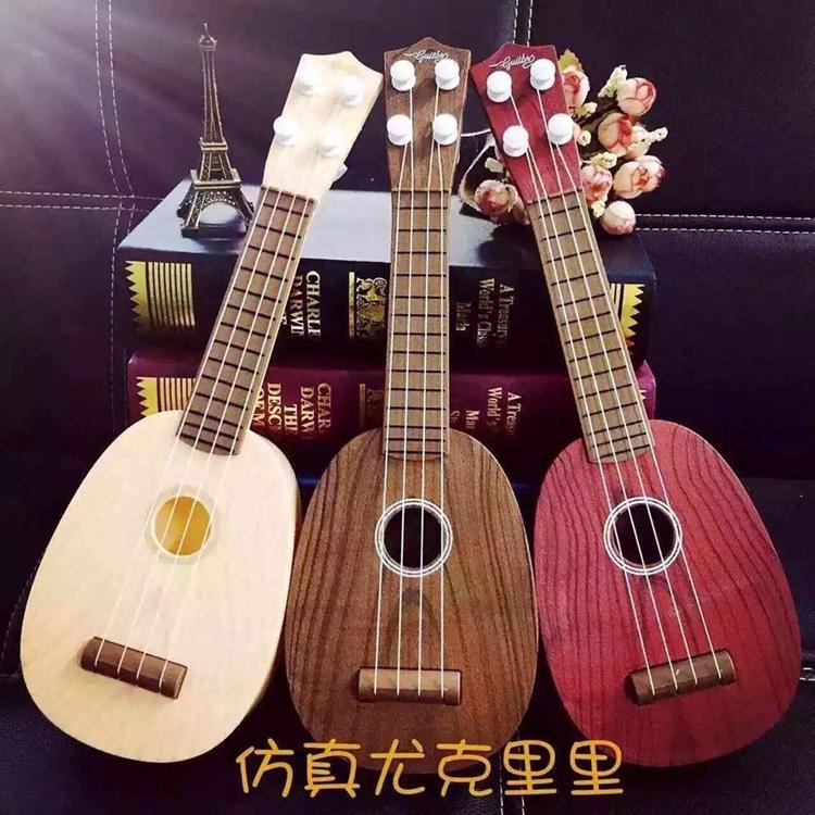 儿童吉他玩具可弹奏仿真迷你尤克里里乐器琴男女宝宝音乐小吉他它