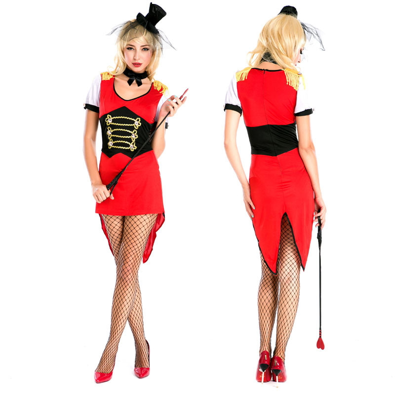Halloween new adult female magician tuxedo bar Cosplay role play party DS Costume