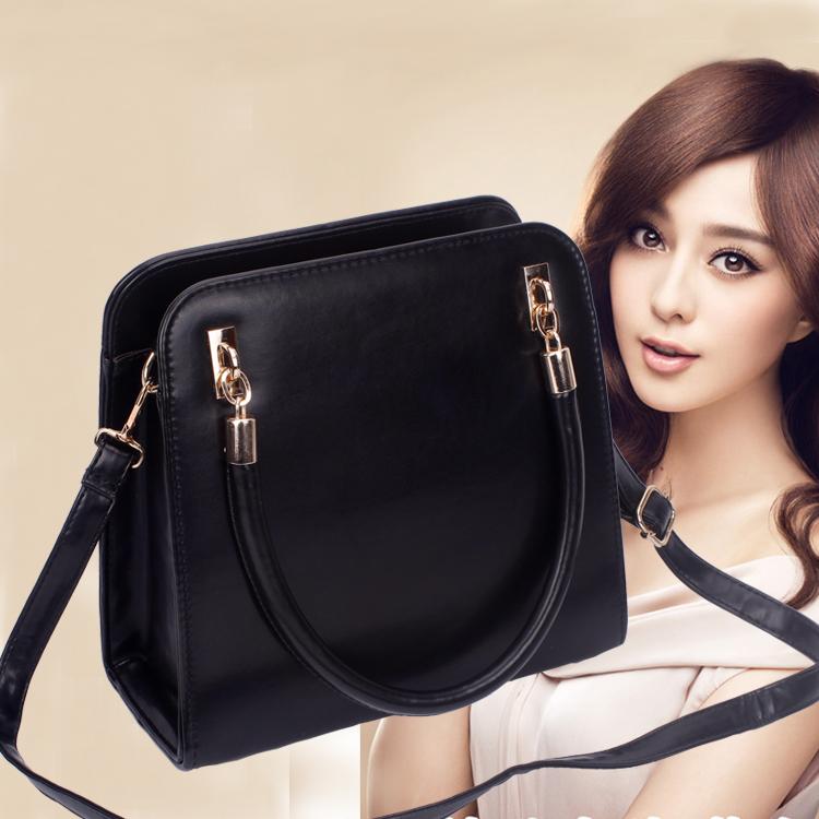 Корейская версия 2015 новые Тайд Сумки дамы сумочка плечо мешок случайные моды в Европе и Америке Диагональ небольшой мешок