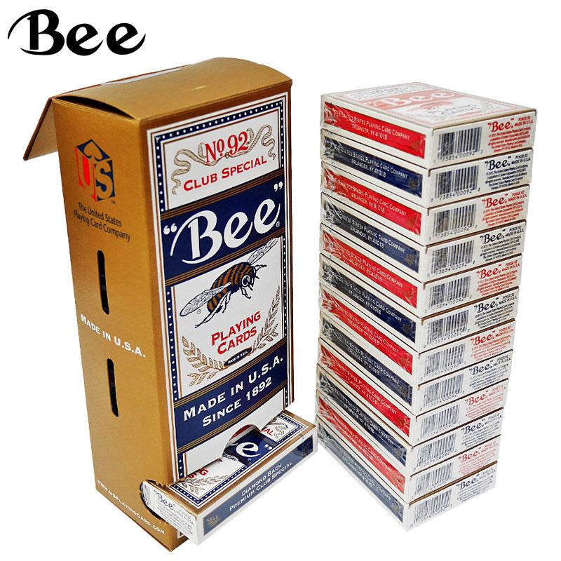 Пчелка покер сша оригинальный импортный бумага карты Bee покер чувствовать себя хорошо один 12 загружен