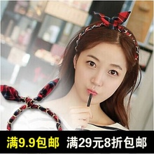 South Korea 12 front flavour restoring ancient ways o charlene choi sa with red hair hoop hair with metal grid female of Scotland