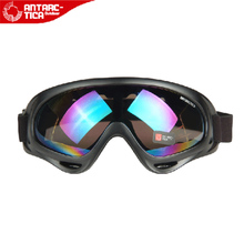 Outdoor sand prevention windproof anti-fog sand ski glasses riding motorcycle goggles in old people eye protector bulletproof glasses
