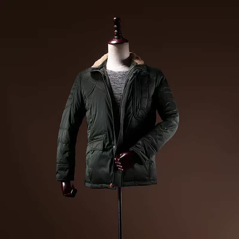 Очистка некоторых не для Цена товаров осень/зима мужской одежды фабрика резки внутренних новый воротник тонкий вниз