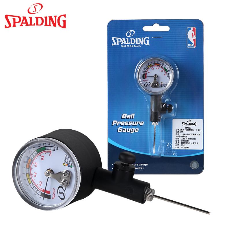 斯伯丁籃球用指針式測壓表 籃球排球足球氣壓表 裁判 壓力表
