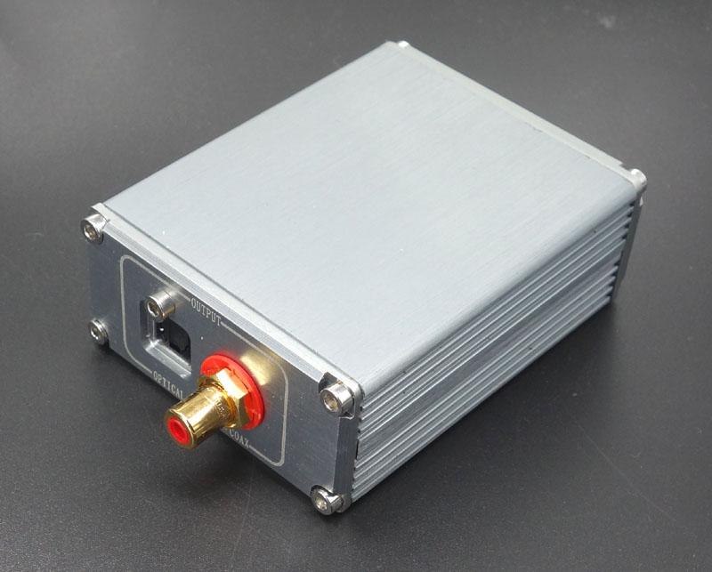 XMOS U8 асинхронной передачи USB аудио коаксиальный оптический цифровой интерфейс TCOX MuRata трансформаторов температурной компенсацией