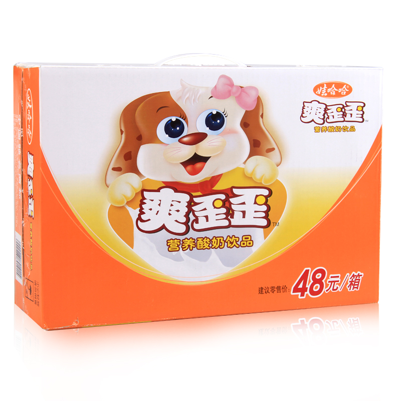 娃哈哈爽歪歪營養酸奶飲品200g^~24 箱 酸奶含乳飲料