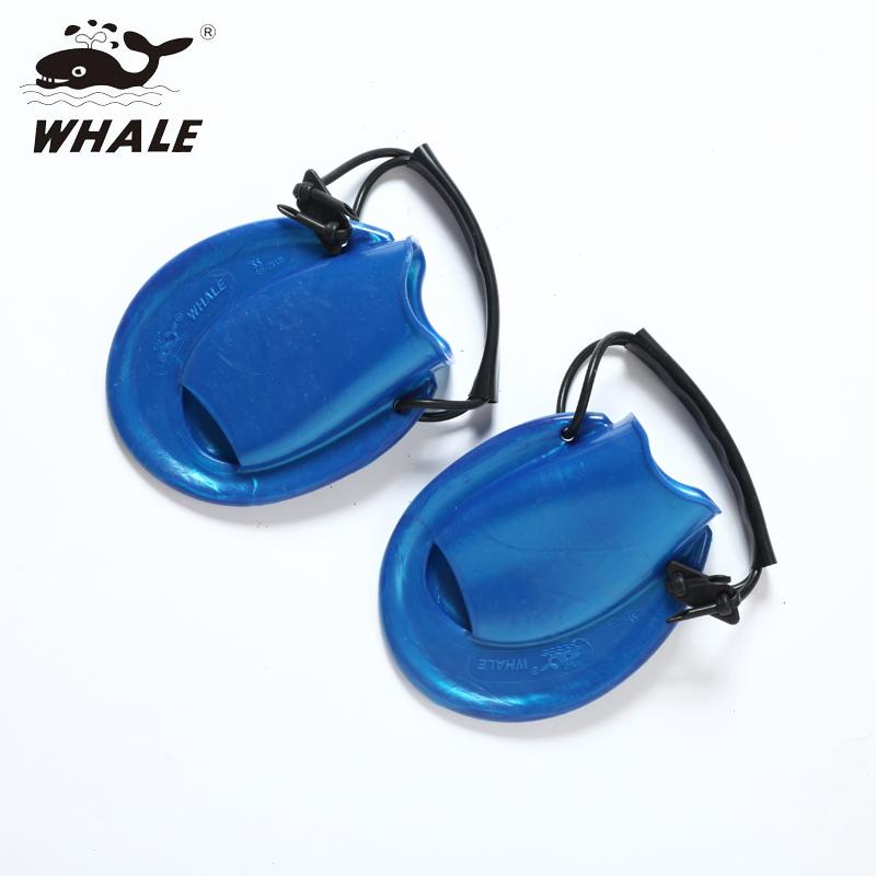 鲸鱼whale游泳训练比赛短脚蹼蛙泳专用脚蹼 加速打水训练装备蛙鞋