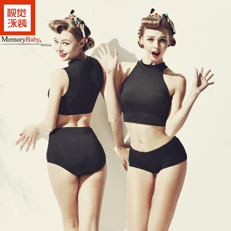 MEMORYBABY визуальный подруга модель купальный костюм женщина страхование охрана трещина плавание наряд накройте живот тонкий европа и америка сексуальный плавать одежда