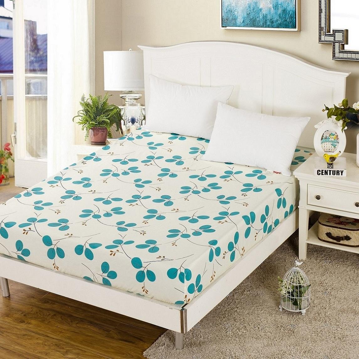 全棉加厚床罩保護套寬1.2 1.35 1.5 1.8長1.9 2.2m米床笠單件純棉