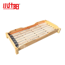 Small Shiyang Childrens bed kindergarten special bed linen bed beds on pinus camphor bed solid wood beds stacked bed