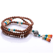 Nepal boy Puti Zi beads bracelets, 108 beads man woman couple bracelets