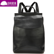 DHH Europe fashion trend of the new Backpack Backpack simple cow leather bag student satchel baodan shoulder handbags