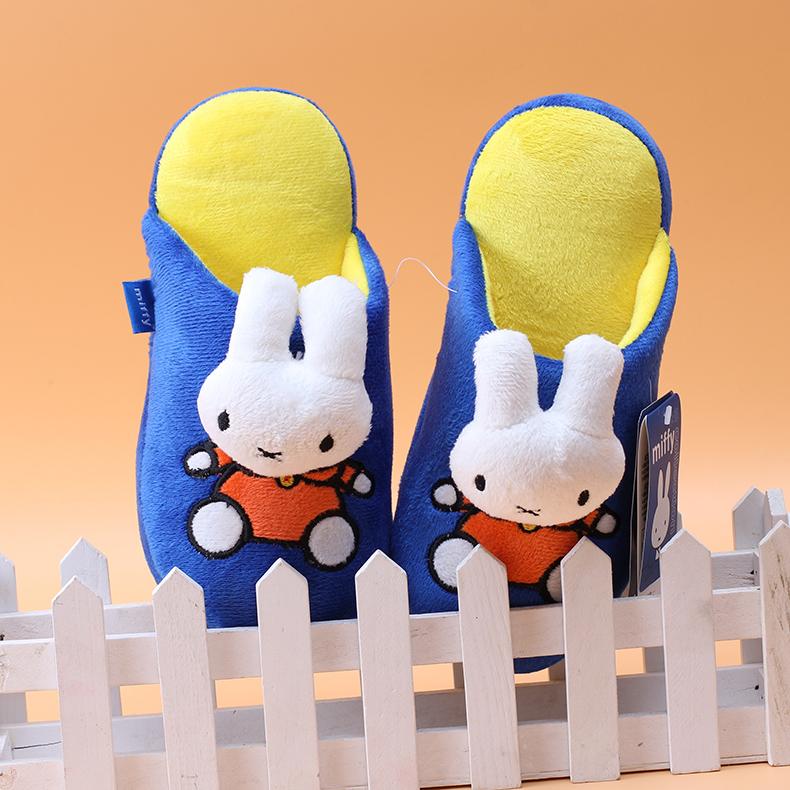米菲童鞋兒童棉拖鞋 男童女童棉拖鞋寶寶拖鞋防滑小孩家居鞋