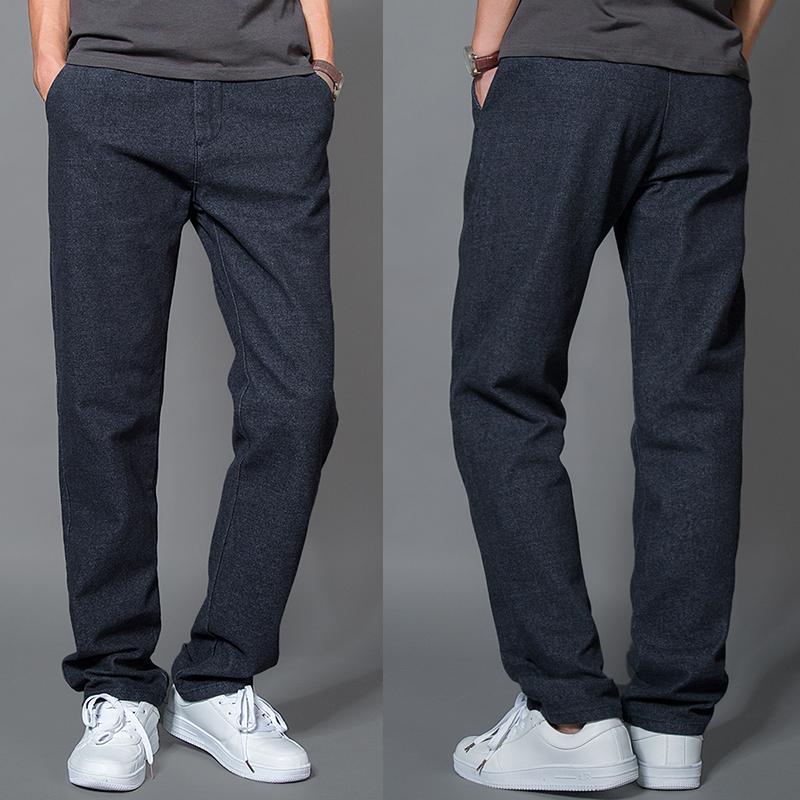 2015 осень новый мужской случайных брюки тонкий чистый город мальчика длинные брюки брюки брюки XL шерстяные ткани брюки мужчины